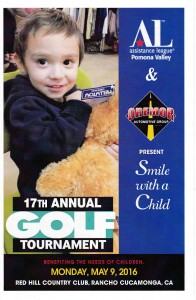 17th Annual Golf Tournament Flyer Cover