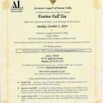 i ft 2014 Fall Festive Tea 2014